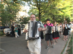 Famous Accordion Orchestra in the Accordions Rising documentary film