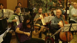 Flexible Orchestra in the Accordions Rising documentary film