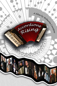 Accordions Rising Film poster signed by filmmaker