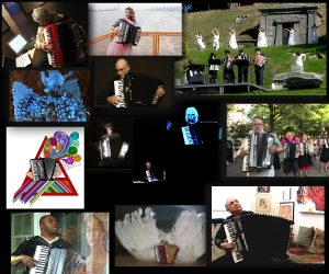 Accordions Rising documentary film image collage