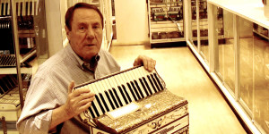 Alex Carozza in the Accordions Rising documentary film