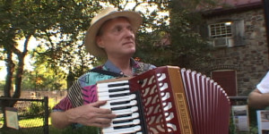 Bob Goldberg in the Accordions Rising documentary film