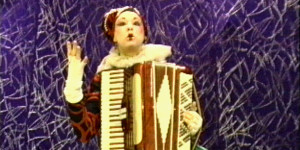 Cheryl Lindley in the Accordions Rising documentary film