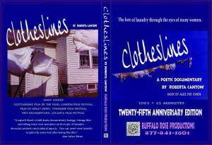 DVD disk of Clotheslines, by filmmaker (32 min)