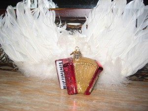 Wings with accordion in the Accordions Rising documentary film