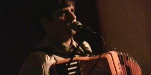 Josh Camp in the Accordions Rising documentary film