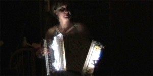 Nicole Renaud in the Accordions Rising documentary film