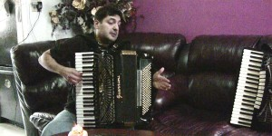 Peter Stan in the Accordions Rising documentary film