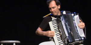 Stephen Pellegrino in the Accordions Rising documentary film