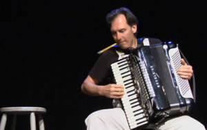 Stephen Pellegrino in the Accordions Rising documentary film