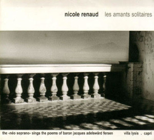 les amants solitaires by Nicole Renaud