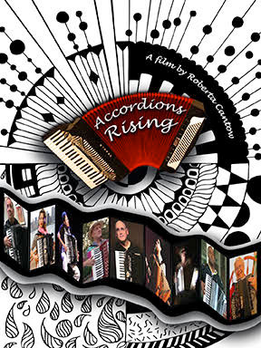 Accordions Rising Award-Winning Film Poster