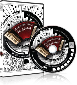 Accordions Rising DVD and Case