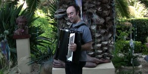 Lou Fanucchi in the Accordions Rising documentary film