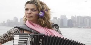 Rachelle Garniez in the Accordions Rising documentary film